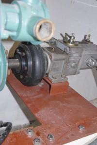 Welding services on pump holder