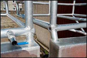 On site Aluminium fabrication