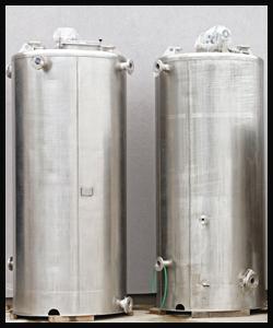 Stainless Steel Storage Tank Fabrication