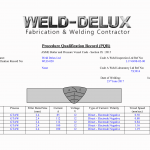 Welding heat input calculation