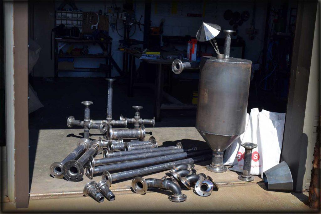 Pipe welding spools