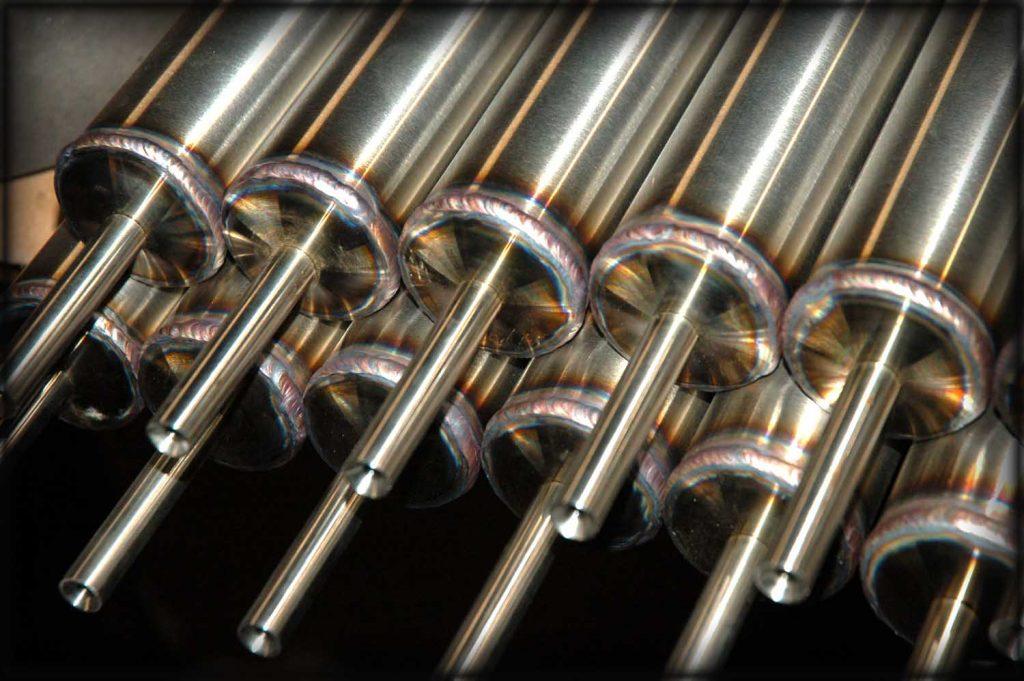 Stainless steel welding for handrails in Aberdeen