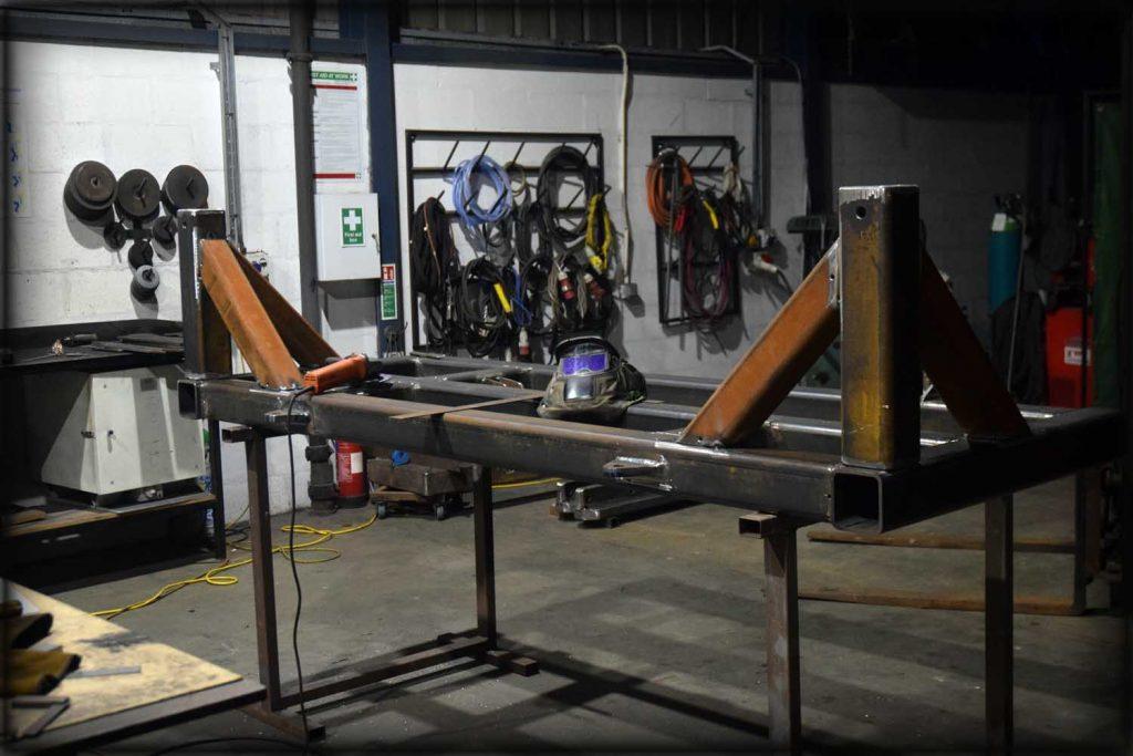 Structural steel welding