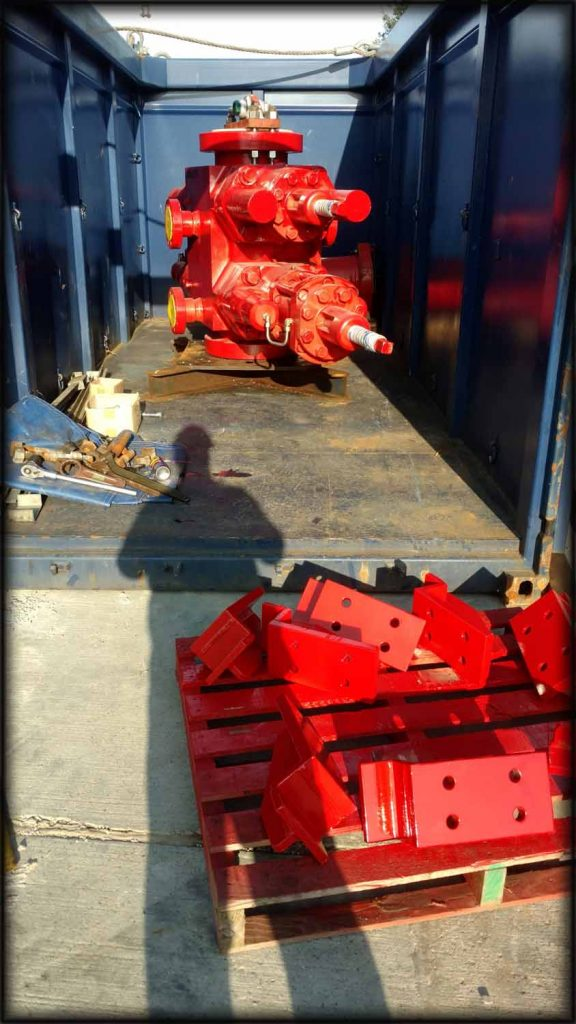 Welded brackets for locking Oil and Gas equipment